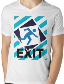 Exit, the urban trend Mens V-Neck T-Shirt