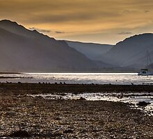 Sunset over Holy Loch, Scotland. UK by Heidi Stewart