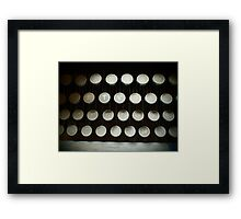 Old Type Writer Framed Print