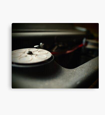 Old Typewriter take 2 Canvas Print
