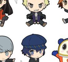Persona 4 Chibis Sticker