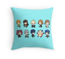 Persona 4 Chibis Throw Pillow