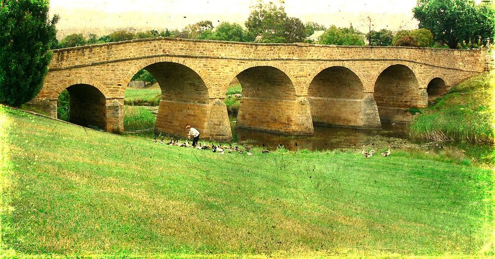 Richmond Bridge  by Carol Knudsen