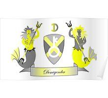 Demigender Crest Poster