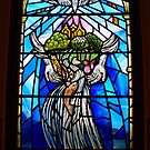 Contin Scots Church beautiful stained glass by BronReid