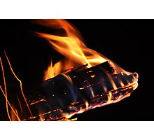 "Flame Art ""Dragonfire"" Photographic Print"