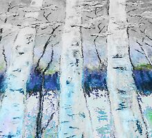 Winter Trees - Collaboration by Caren