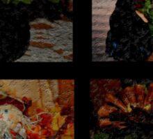 Autumn Quilt Sticker
