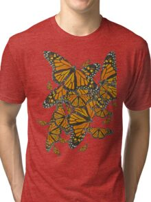 Monarch Butterflies - Migration Tri-blend T-Shirt