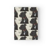 Staffy and Proud Hardcover Journal