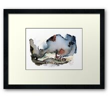 The lull before the storm Framed Print