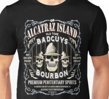 Alcatraz Island BadGuys Bourbon Label Unisex T-Shirt