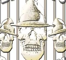 Alcatraz Island BadGuys Bourbon Label Sticker