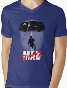 The Mad Warrior Mens V-Neck T-Shirt