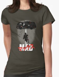 The Mad Warrior Womens Fitted T-Shirt