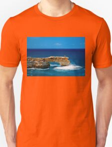 Photographing on the edge Unisex T-Shirt