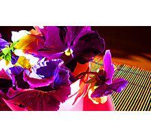Vibrant Teacups Photographic Print