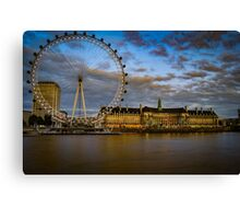 The London Eye Canvas Print