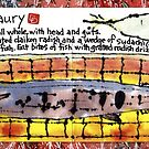 Illustrated Recipe: Grilled Pacific Saury by dosankodebbie