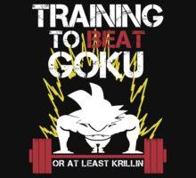 Goku Saiyan - Training to Beat Goku by mluata