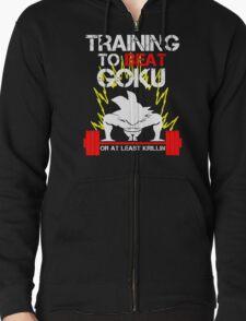 Goku Saiyan - Training to Beat Goku T-Shirt
