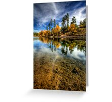 Fall Point Greeting Card