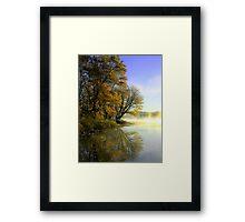 Fox Lake Revisited Framed Print