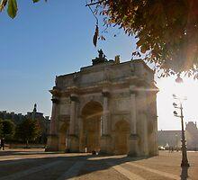 Arc de Triomphe du Carrousel by Dale Gillard