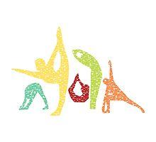 Yoga Asanas by rivalsun