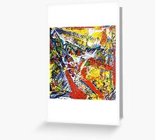 Wall of Sound, Field of Vision Greeting Card