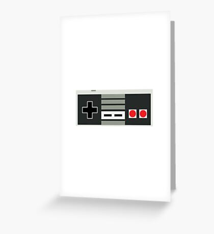 Nintendo Controller - Retro Greeting Card
