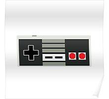 Nintendo Controller - Retro Poster