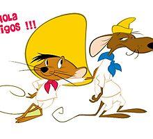 speedy gonzales & amigos by martone1709