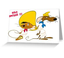 speedy gonzales & amigos Greeting Card