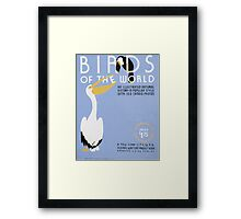 WPA United States Government Work Project Administration Poster 0238 Birds of the World Illustrated Natural History Framed Print