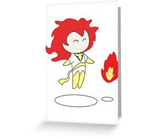 Jean Grey the White Phoenix Greeting Card