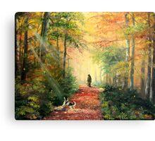 Invitation to Walk  Canvas Print