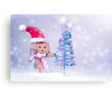 Danbo's First Christmas! Canvas Print