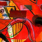 Anthropomorphism 06 Red series. by Michael West