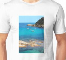 Boats on the bay of Saint Tropez, French Riviera Unisex T-Shirt