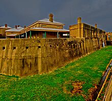 Fort Scratchley by bazcelt