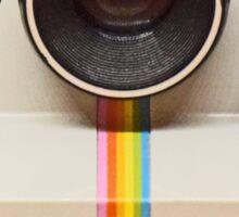 Vintage Polaroid Camera Sticker