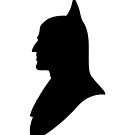 Batman Silhouette by Luc Kersten