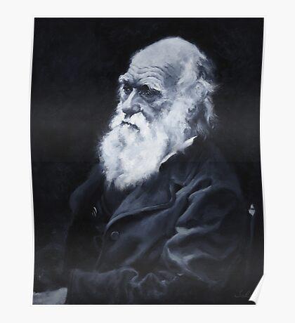 Darwin Oil Painting Poster