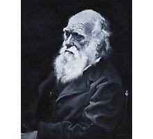 Darwin Oil Painting Photographic Print