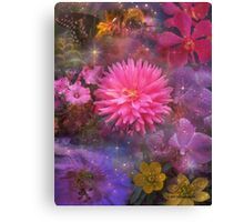 Flowers - A Visual Bouquet for Mom Canvas Print