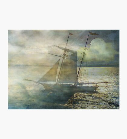 Sailing to the Moon Photographic Print