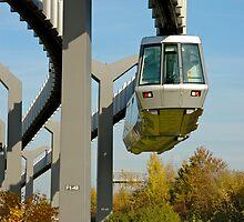 Skytrain, Düsseldorf International Airport, Germany. by David A. L. Davies
