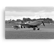 WWII British RAF Spitfire Canvas Print