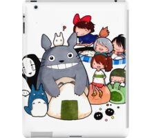 funny ghibli full colour iPad Case/Skin